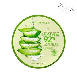 Althea_Aloe Vera 92% Soothing Gel (300ml)