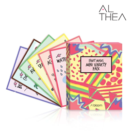 Althea_Limited Edition Fruit Masks Mini Variety Pack